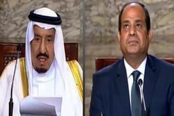 ملک سلمان و عبدالفتاح السیسی
