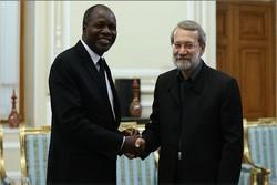 لاريجاني يستقبل وزير خارجية دولة ساحل العاج