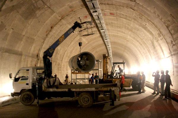 لاینینگ ۶۰۰ متر از تونل قلاجه پایان یافت