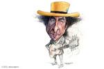 کاریکاتور؛ اعطای جایزه نوبل ادبیات به یک موسیقیدان