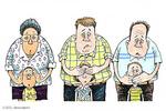 کاریکاتور؛ اخبار ۱۸+ انتخابات آمریکا