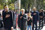 تصاویری از پدر اولین شهید مدافع حرم