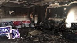 """حرق مقر للحزب الجمهوري وترامب يصف أنصار هيلاري بـ""""الحيوانات"""""""
