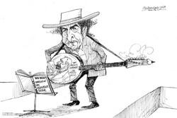 Nobel Edebiyat Ödülünü bir müzisyen aldı / Karikatür