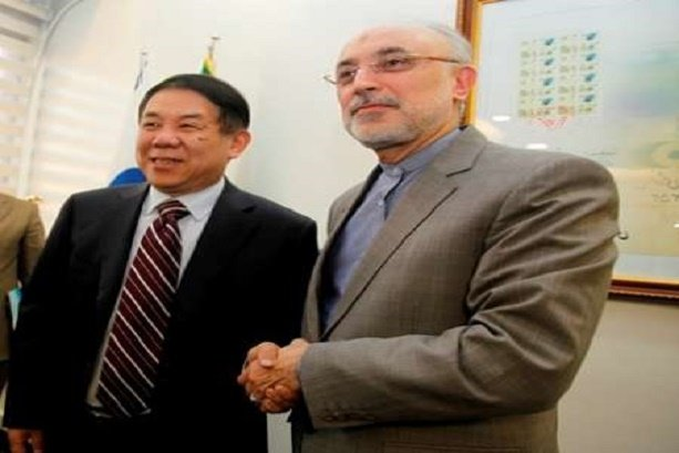 Iran, China confer on peaceful nuclear coop.