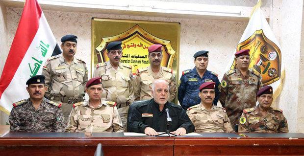 العبادي: عملية تحرير غرب الموصل ستبدأ قريبا