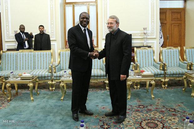 لاريجاني: ايران ترحب باقامة علاقات بناءة مع الدول الافريقية
