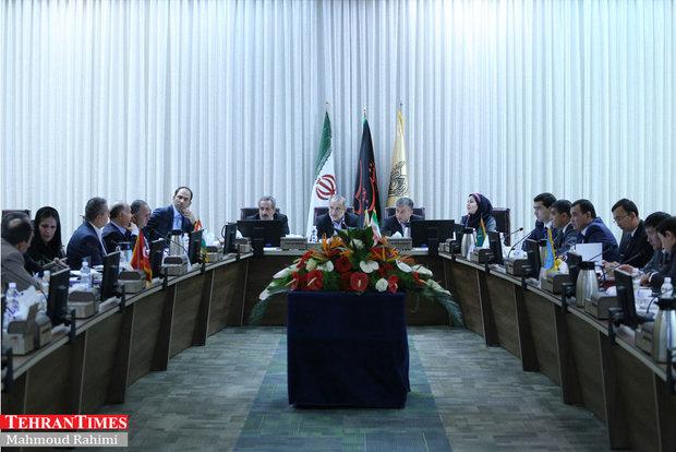 Pentalateral meeting on railroad co-op among regional countries kicks off in Tehran