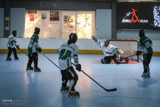 حضور تیمهای ملی اسکیت هاکی روی یخ ایران در مسابقات کاپ آسیایی
