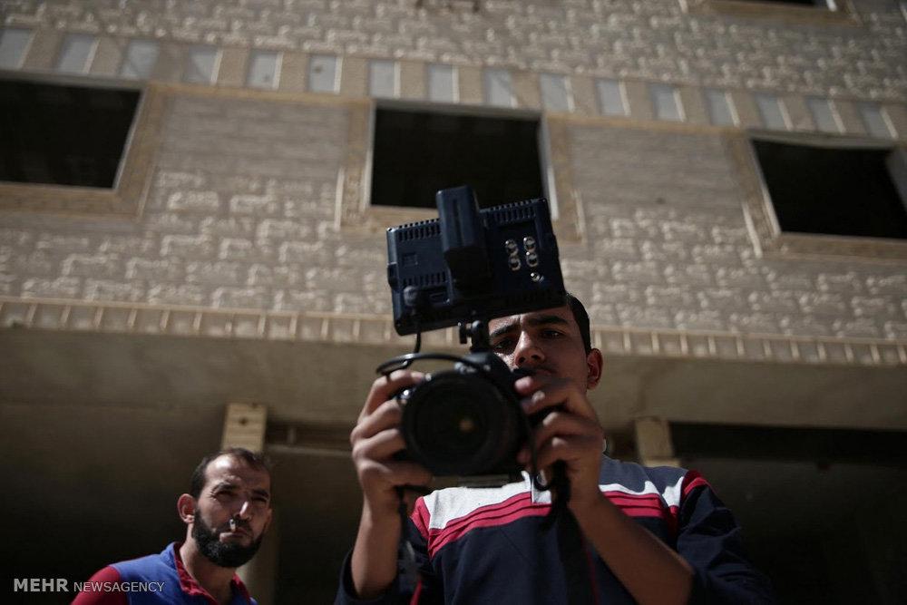 ساخت فیلم در دمشق