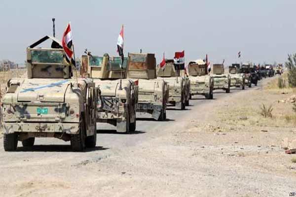 ماموریت حشد الشعبی در عملیات موصل/ نیروهای عراقی در نزدیکی نمرود