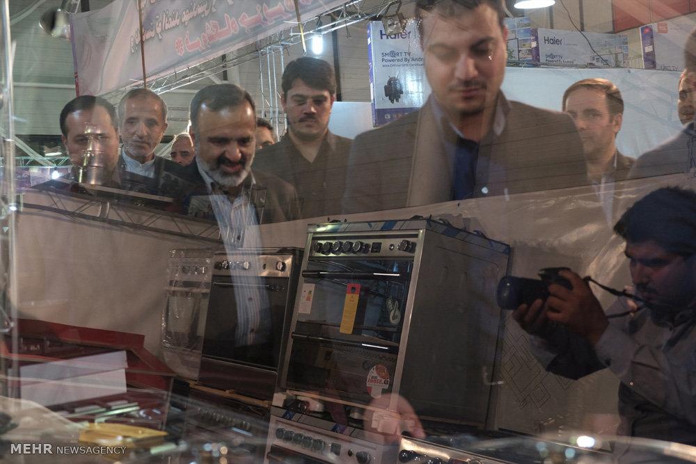 افتتاح نمایشگاه خانه، خانواده، تولید ایرانی در مشهد