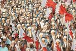 راهپیمایی گسترده مردم بحرین در حمایت از شیخ «عیسی قاسم»