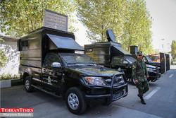 International police exhibition opens in Tehran