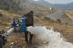 ۲ ایستگاه برداشت آب انتقالی در بهاباد راه اندازی شد