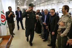 مراسم افتتاح تالار پیروزی در باغ موزه دفاع مقدس