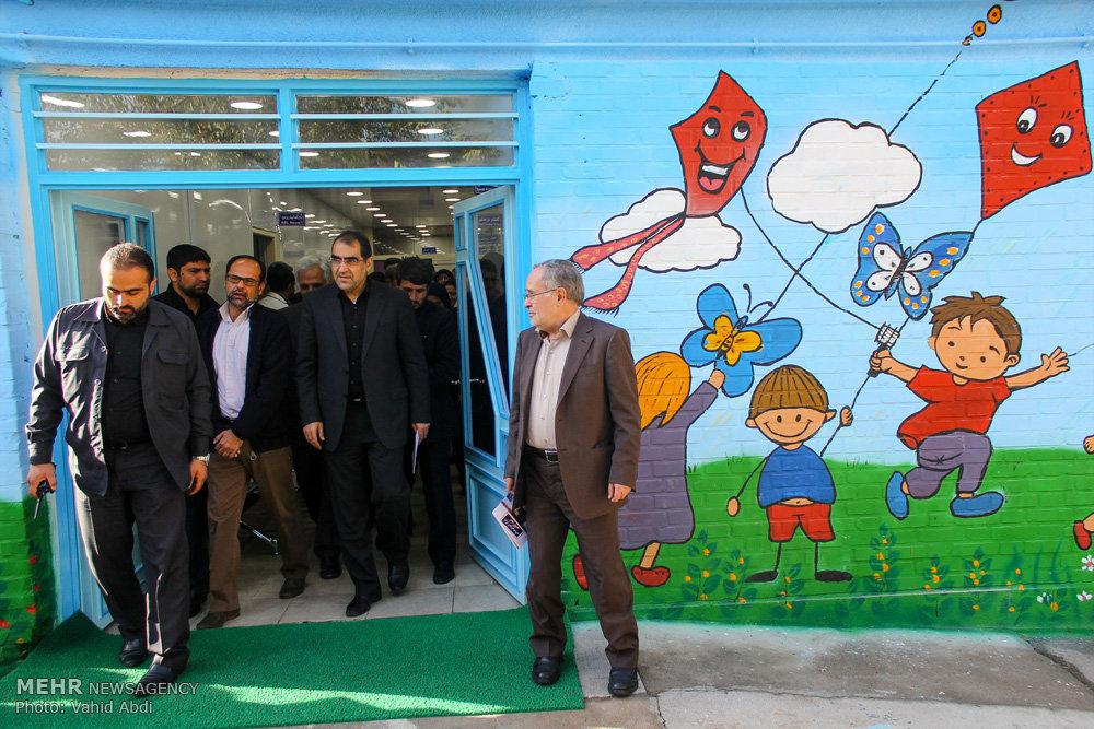 سفر سید حسن قاضی زاده هاشمی وزیر بهداشت و درمان به تبریز