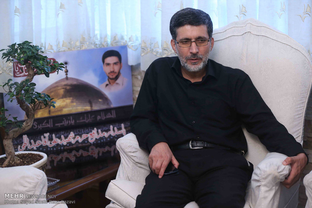 شهید جاوید الاثر علی آقا عبدالهی معروف به ابو امیر