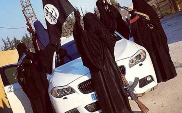 """داعش يخلي الموصل من """"نساء الخلافة"""" الاجنبيات"""