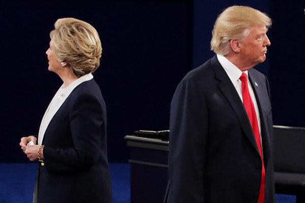 پخش زنده مناظره ترامپ و کلینتون از سه شبکه تلویزیون ایران