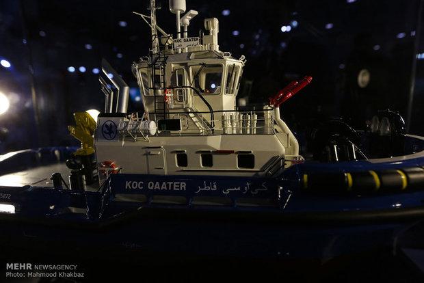 مراسم افتتاح هجدهمین همایش صنایع دریایی و دریانوردی در جزیره کیش
