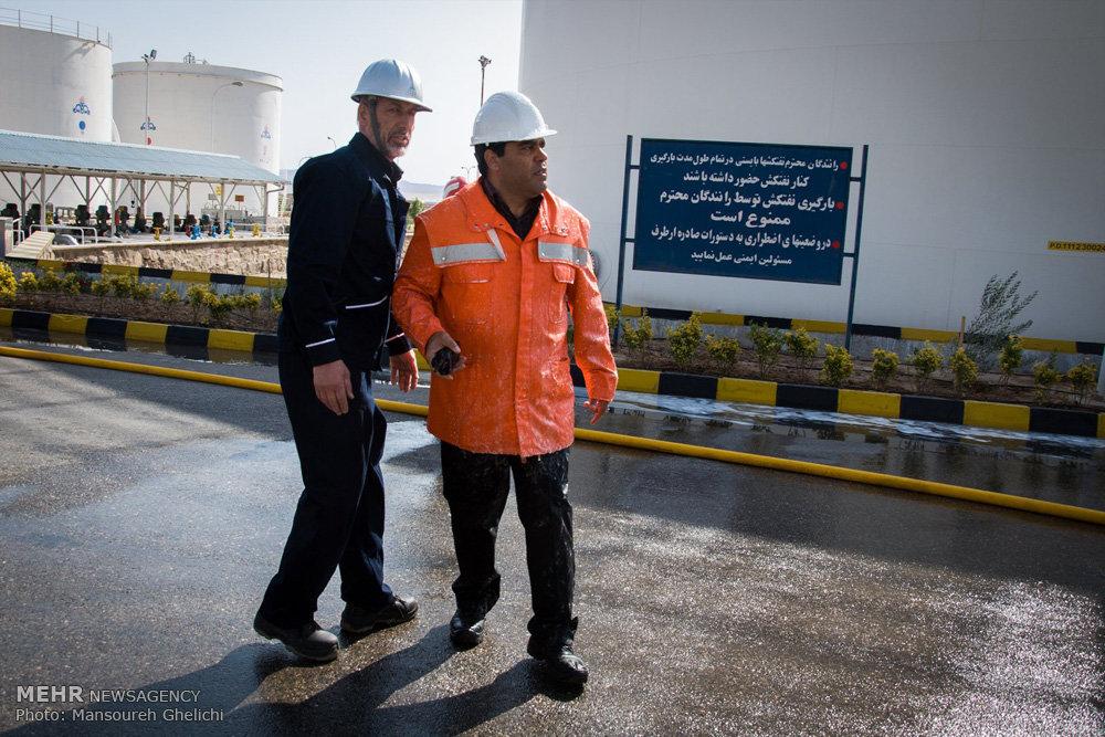 مانور مشترک ایمنی فرآوردههای نفتی در شاهرود