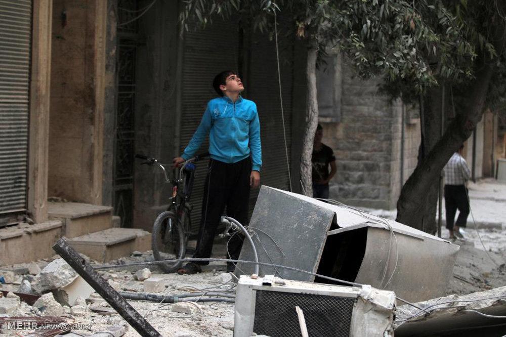 تشدید جنگ در حلب