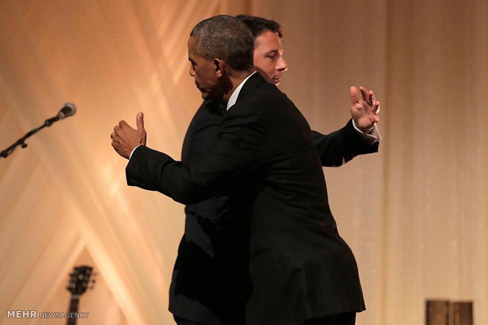 آخرین ضیافت نهار دوران ریاست جمهوری اوباما