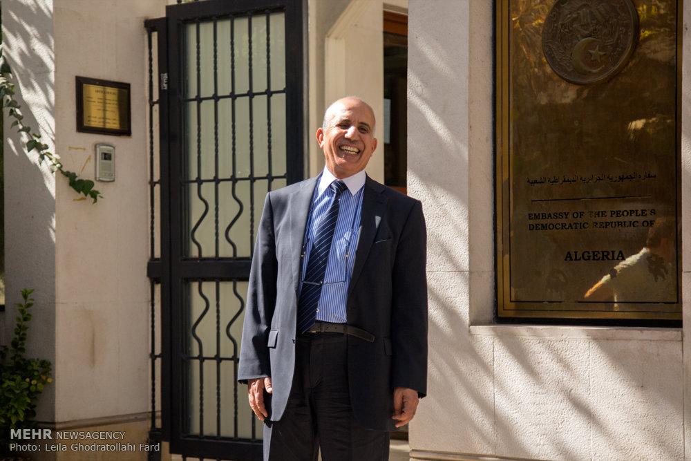 گفت و گو با سفیر الجزایر