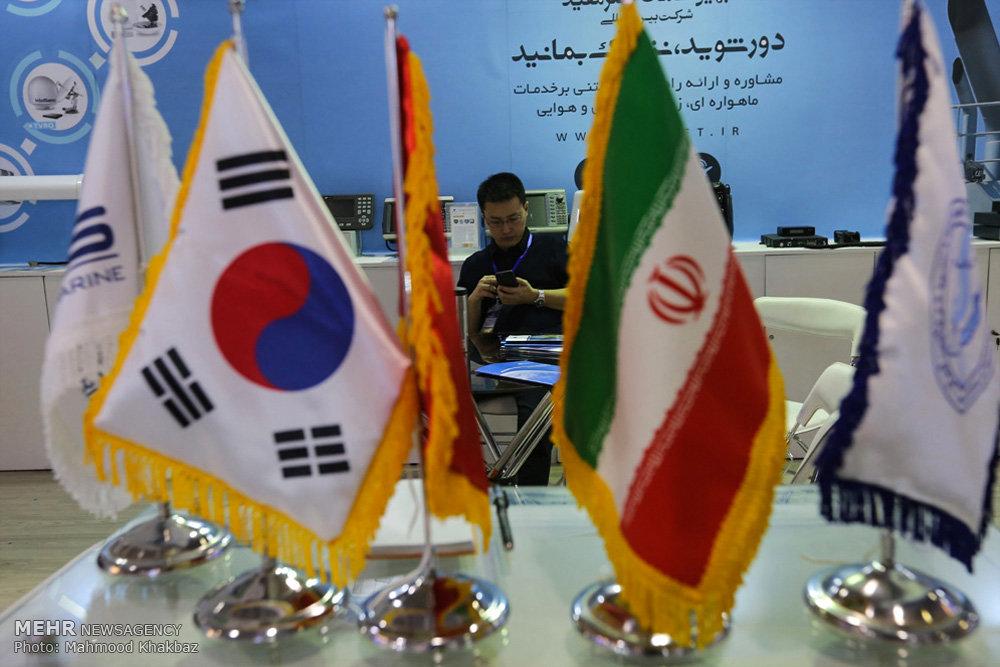 مراسم افتتاح هجدهمین نمایشگاه صنایع دریایی و دریانوردی