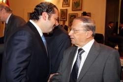 نخستوزیر لبنان با عون و فرمانده ارتش رایزنی کرد