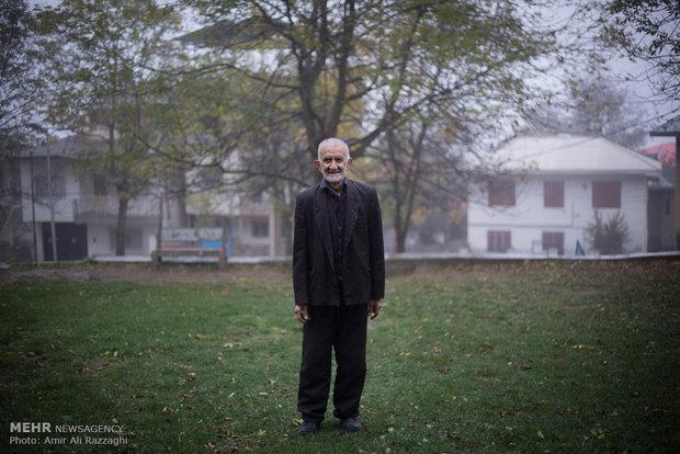 حرفة صناعة اللباد في ايران
