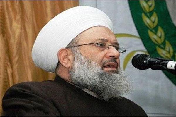 شیخ «ماهر حمود» دبیر کل اتحادیه علمای مقاومت