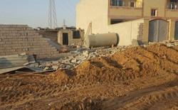 تخریب منزل معلولان در اهواز