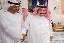 دیدار ملک سلمان با ولیعهد ابوظبی