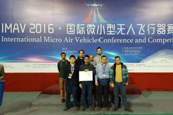 Amirkabir MAV team ranks 1st at China competition