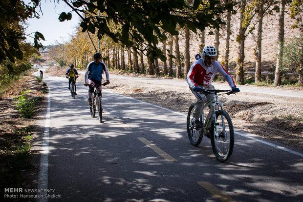 سباق الدراجات الجبلية في ايران