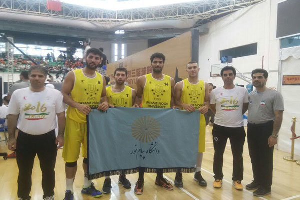Four Iranian university basketball teams to attend Asian games