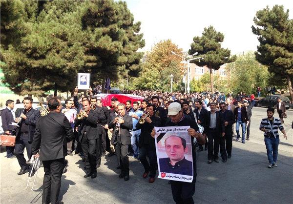 Persepolis's psychologist Khanbani laid to rest