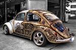 تصاویر جالب از خلاقیت در تزئین خودرو