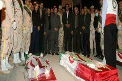 وصول جثامين اربعة ايرانيين استشهدوا في هجمات كركوك الارهابية