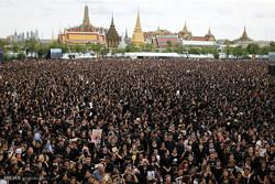تجمع عزاداران تایلندی در بانکوک