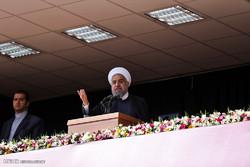 """بدء جولة الرئيس روحاني في محافظة """"مركزي"""" /صور"""