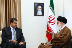 Nicolás Maduro meets with Ayatollah Khamenei