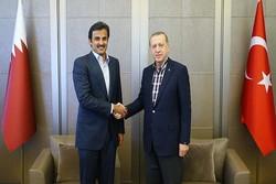 اردوغان و امیر قطر