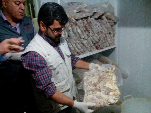 جریمه میلیاردی عامل عرضه خارج از شبکه گوشت منجمد در همدان