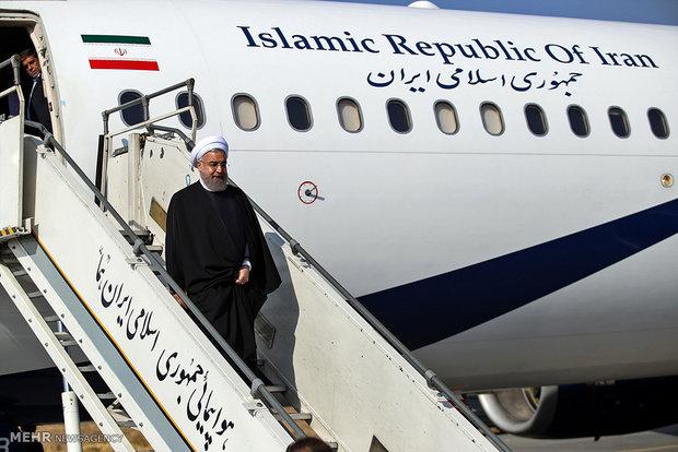"""جولة الرئيس روحاني في محافظة """"مركزي"""""""
