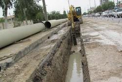 اجرای ۷.۵ کیلومتر عملیات اصلاح شبکه آب و فاضلاب در قروه