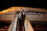 رئیس جمهور فنلاند وارد تهران شد