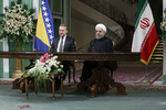 Rouhani, Izetbegovic highlight the need to promote ties